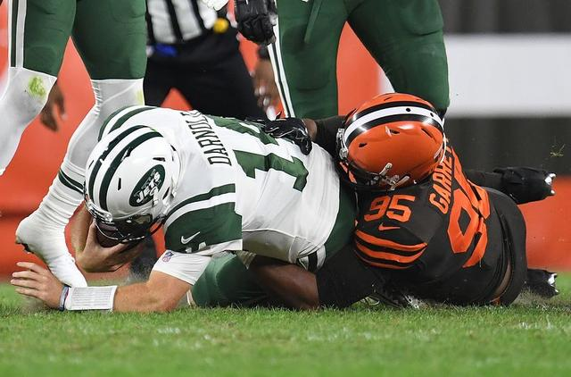 06d8b666d New York Jets: Sam Darnold has one of those nights in loss to Cleveland