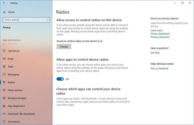 What's new with the Settings app in Windows 10 October 2018