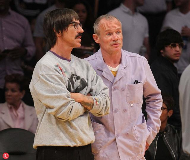 Flea and Anthony Kiedis love the Lakers