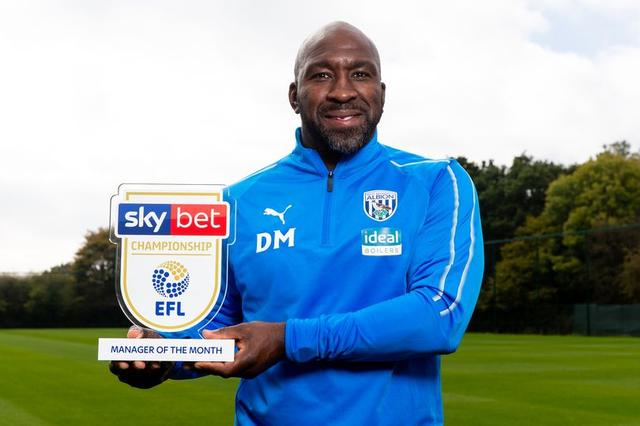 Championship manager and player of the month revealed as West Brom celebrate double award win