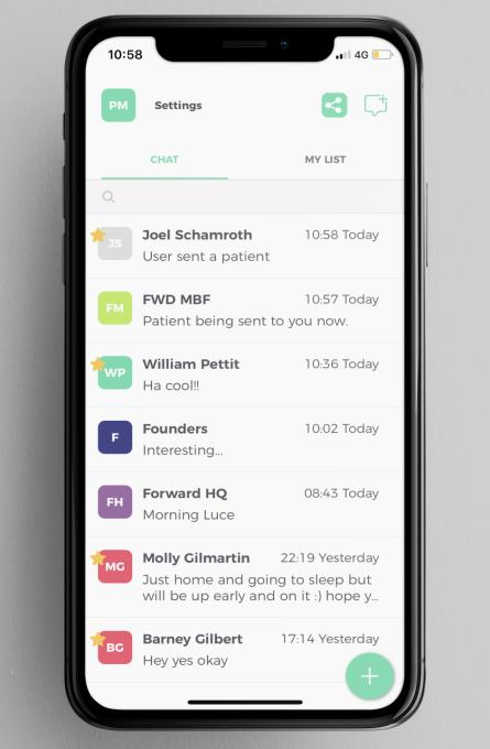 Forward Health, the healthcare messaging app, scores $3.9M led by Stride.VC