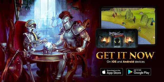 Old School RuneScape is Officially Available on Android