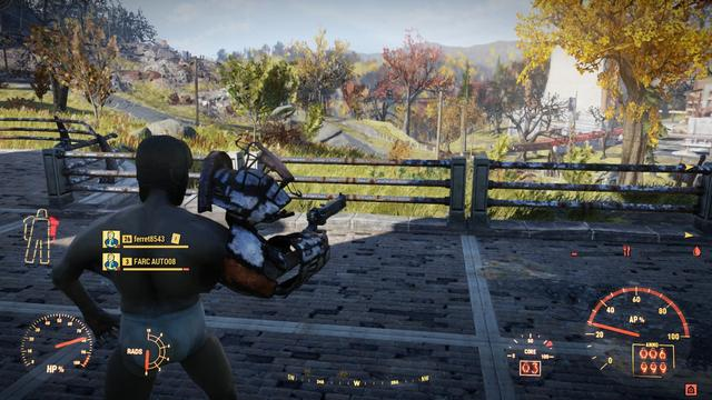Fallout 76 Power Armor glitch turns players into naked monsters_国际