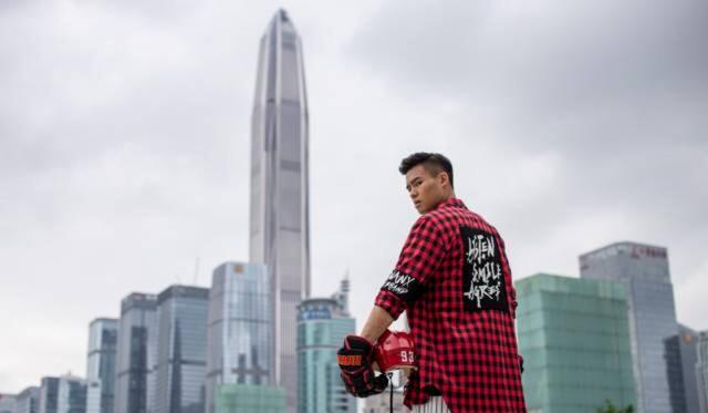 Chinese ice hockey star Zachary Yuen feels weight of a nation as he forges his path in Russia's KHL