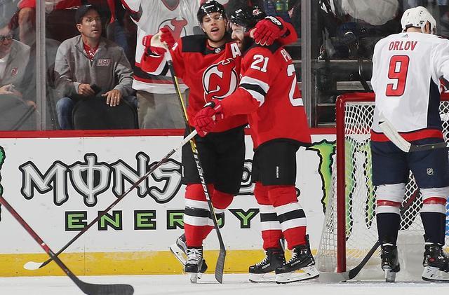 wholesale dealer d980f 5e258 New Jersey Devils: Kyle Palmieri Dominant in Win Vs ...
