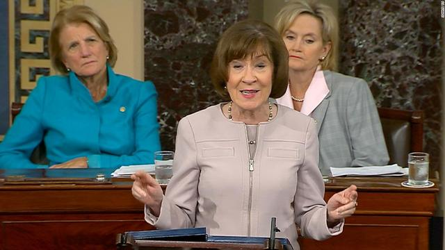 Susan Collins becomes first Republican senator to say yes to witnesses in impeachment trial