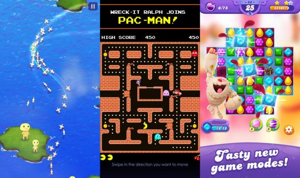 candy crush clear vision pac man and the best free iphone games