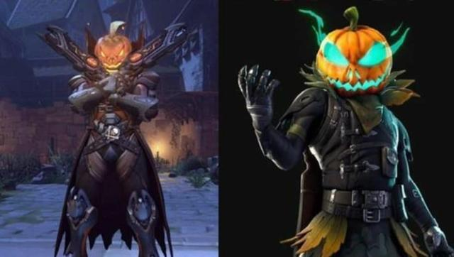 new fortnite skin looks like reaper overwatch halloween terror skin - skin de halloween fortnite