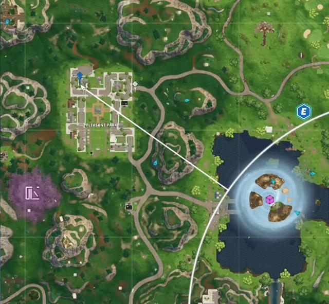 fortnite ghost decoration locations guide - destroy ghost decorations fortnite