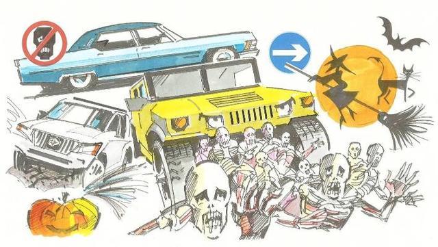 Five cars to survive the zombie apocalypse_国际_蛋蛋赞