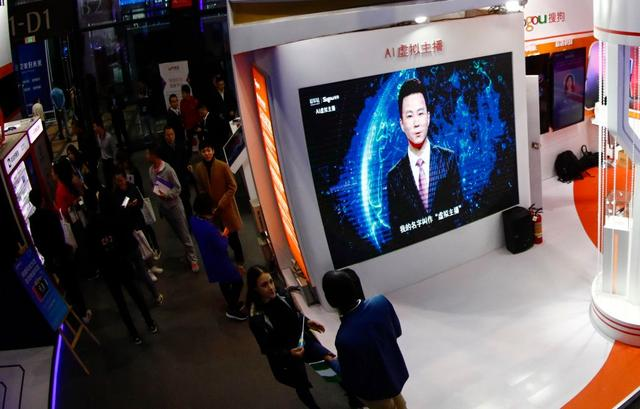 China's State-Run Media Unveils 'AI Anchors' to Read the News