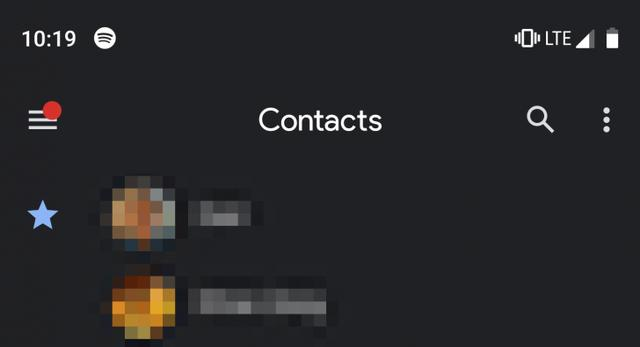 Google Contacts v3 2 brings the long-awaited dark mode [APK