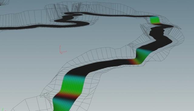 River Simulation in Houdini & UE4_国际_蛋蛋赞