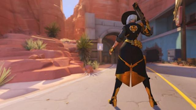 Ashe and B O B  Overwatch League Skins Added to Live Servers