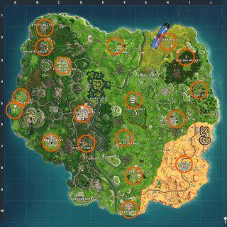 Where To Find The Fortnite Fish Trophy Locations And How To Dance
