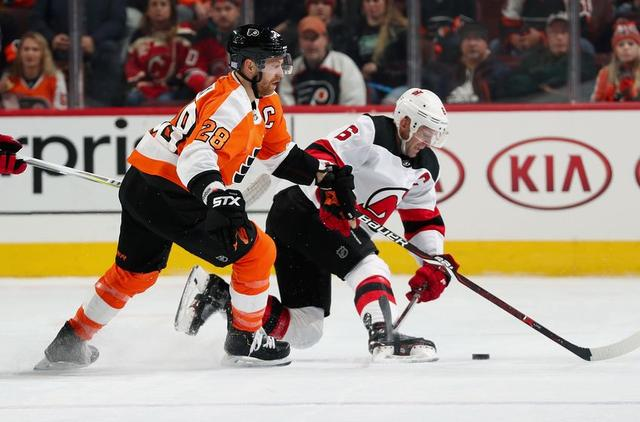 buy online a1a33 c28d9 New Jersey Devils Can't Rely on Andy Greene in Sami ...