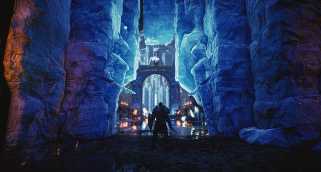 Ice Castle in UE4: Assembly & Lighting_国际_蛋蛋赞