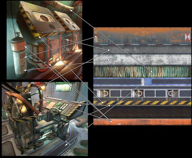 Modular Sci-Fi Level in UE4 by Matt Olson_国际_蛋蛋赞