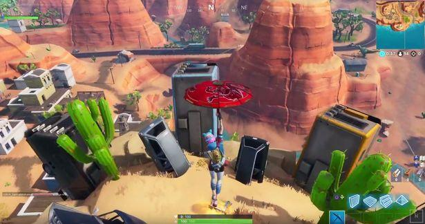 Fortnite Dance On Crown Of Rvs Week 1 Challenge Location On The