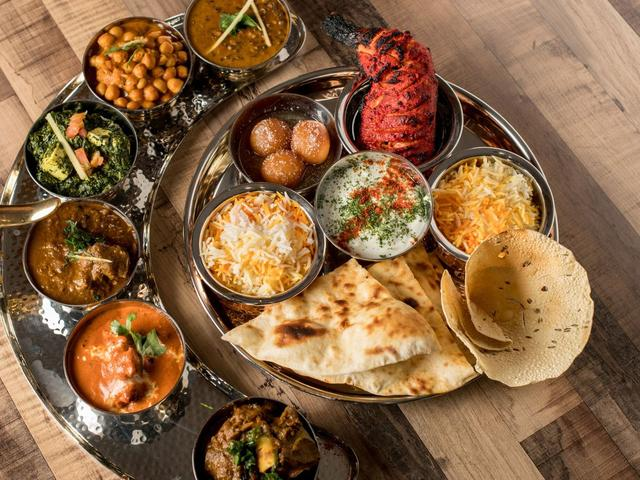 Where to Try Indian Thalis Around D.C.