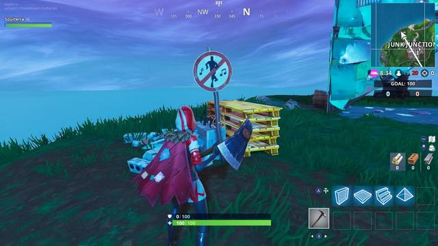 fortnite season 7 week 1 challenges dance in different forbidden locations - where to dance in fortnite forbidden locations