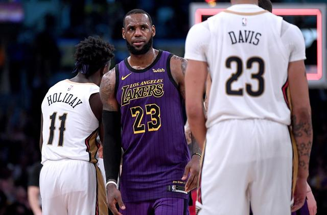 e7ee08516ede Los Angeles Lakers  Win over Warriors accelerates Anthony Davis trade