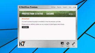 how to turn off firewall in k7 total security