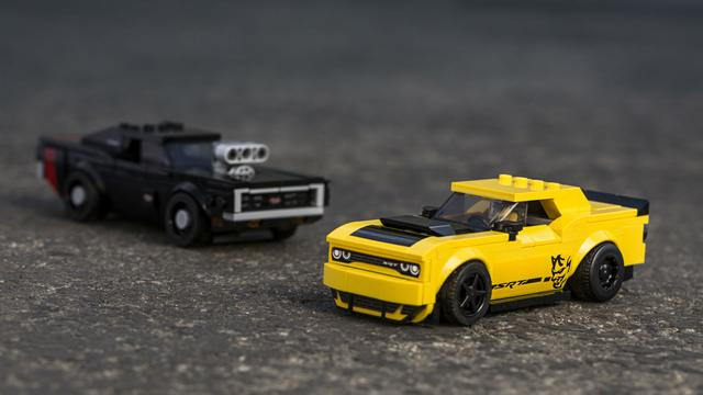 2018 Dodge Demon and 1970 Charger R/T LEGO Speed Champions Set Is Downright Awesome