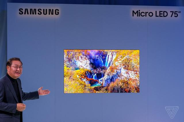 Samsung's 75-inch MicroLED 4K TV is a huge step into the