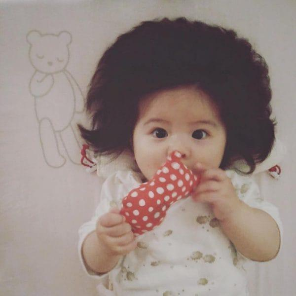 Baby Who Went Viral For Her Big Hair Is Starring In Pantene Ads Now