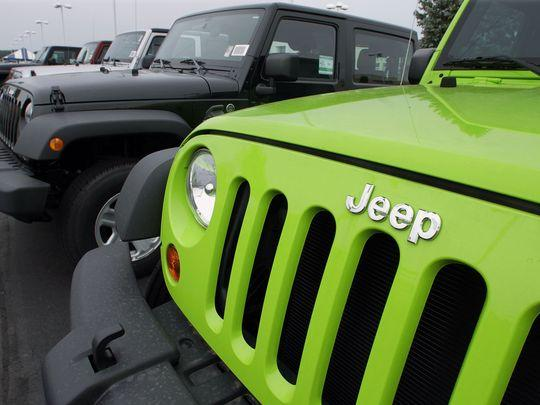 Fiat Chrysler recalls 1.6M vehicles to fix air bags