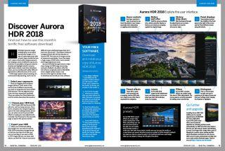 Get 12 free gifts including Aurora HDR 2018 with the new issue of Digital Camera magazine