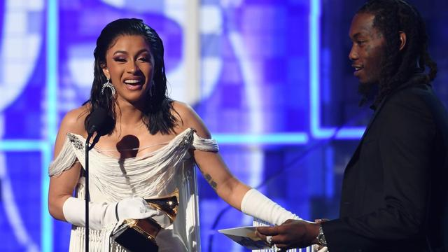 Cardi B Just Became the First Solo Female Artist to Win a Grammy for Best Rap Album