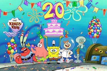 'SpongeBob Squarepants' to celebrate 20 years with the 'Best Year Ever' and a new movie