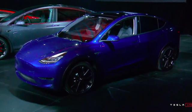 Tesla reveals the Model Y, its new mid-size SUV