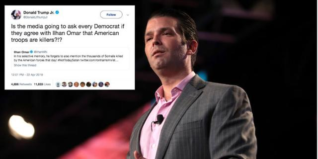 Does Donald Trump Jr. know what American soldiers do?