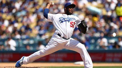 Dodgers reliever Pedro Baez shrugs off boos, quietly gets the job done
