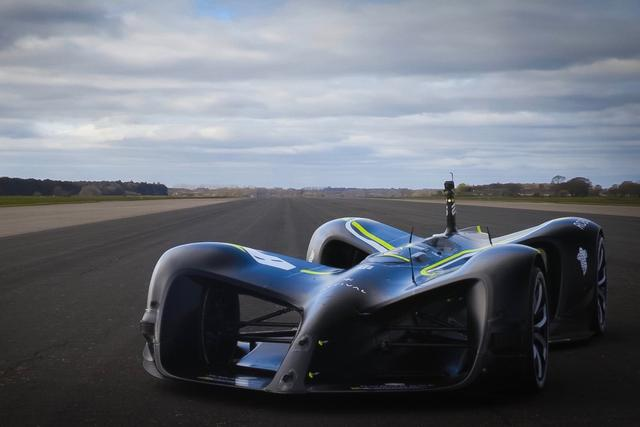 This Missile On Wheels Is The World's Fastest Self-Driving Car