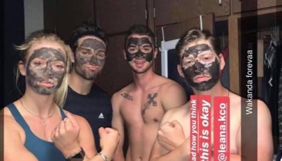 White Student In Viral Blackface Photo Attacks People For 'Blasting' The Photo