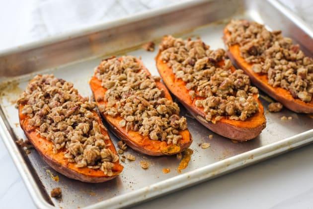 Streusel Topped Sweet Potatoes Recipe