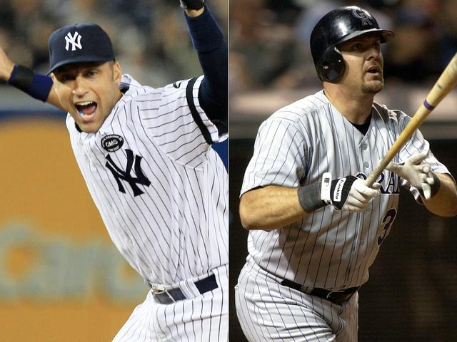 Baseball Hall of Fame: Derek Jeter gets all but one vote, Larry Walker narrowly wins a spot in Cooperstown
