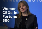 Female CEOs are rare. Two in a row at the same company is (almost) unheard of
