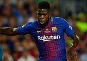 Barcelona defender Umtiti out of Spurs clash