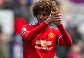 Man Utd midfielder Fellaini out of Belgium fixtures with injury