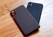 An ultra-thin case made of real body armor is the perfect way to protect your $1,000 iPhone X or XS