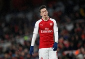 Arsenal fans lay into Ozil after cameo