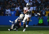 Marshawn Lynch in, DeAndre Washington out on Monday night