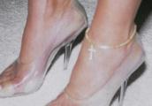 Celeb Doc Says Kardashians' Clear Shoe Trend Causes Ugly, Smelly, Sweaty Feet