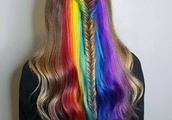 15 Wonderful Rainbow Hairstyles - Pretty Designs