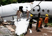 Six People Aboard Survive as Private Jet Crashed Off the Runway and Split in Two When It Landed at T